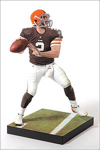 NFL Sportspicks Series 35 Johnny Manziel Brown Jersey (Cleveland Browns)