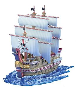 One Piece Grand Ship Collection Model Kit: #04 Red Force
