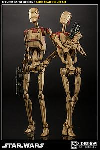 Sideshow Collectibles 1/6 Scale Star Wars Figure: Security Battle Droids Set