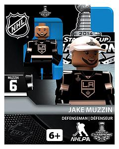 Hockey Minifigures: Jake Muzzin - Stanley Cup Champions (Los Angeles Kings)