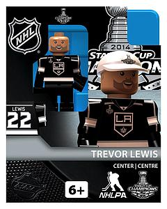 Hockey Minifigures: Trevor Lewis - Stanley Cup Champions (Los Angeles Kings)