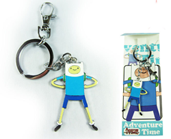Adventure Time Keychain Finn