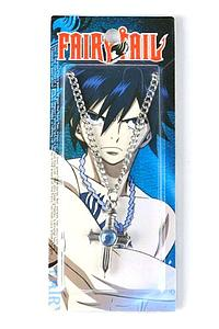 Fairy Tail Necklace: Gray Fullbuster Cross