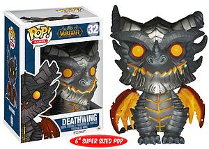 "Pop! Games World of Warcraft Vinyl Figure 6"" Deathwing #32 (Vaulted)"