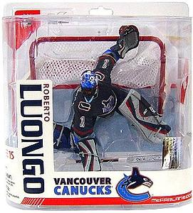 NHL Sportspicks Series 15 Roberto Luongo (Vancouver Canucks) Blue Jersey Exclusive