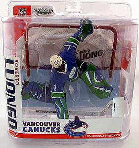 NHL Sportspicks Series 15 Roberto Luongo (Vancouver Canucks) Blue Jersey Variant