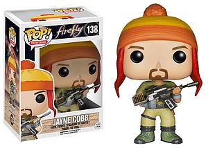 Pop! Television Firefly Vinyl Figure Jayne Cobb #138 (Retired)