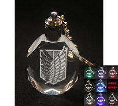Attack on Titan Keychain: Scouting Legion (Survey Corps) LED