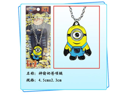 Despicable Me Necklace: Carl