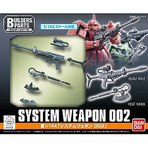 Gundam Build Fighters 1/144 Scale Model Kit: System Weapon 002