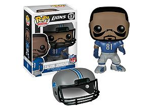 Pop! Football NFL Vinyl Figure Calvin Johnson (Detriot Lions) #17