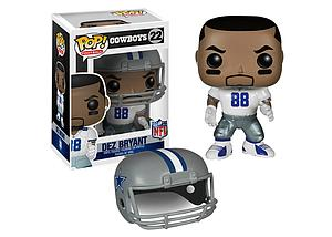 Pop! Football NFL Vinyl Figure Dez Bryant (Dallas Cowboys) #22 (Retired)