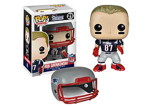 Pop! Football NFL Vinyl Figure Rob Gronkowski (New England Patriots) #21 (Retired)
