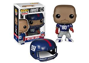 Pop! Football NFL Vinyl Figure Victor Cruz (New York Giants) #19