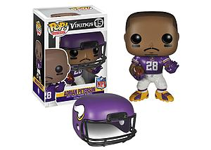 Pop! Football NFL Vinyl Figure Adrian Peterson (Minnesota Vikings) #15 (Retired)