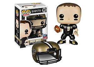Pop! Football NFL Vinyl Figure Drew Brees (New Orleans Saints) #11