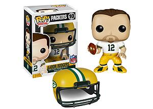 Pop! Football NFL Vinyl Figure Aaron Rodgers (Green Bay Packers) #10 (Retired)