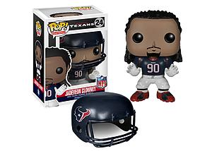 Pop! Football NFL Vinyl Figure Jadeveon Clowney (Houston Texans) #24 (Retired)