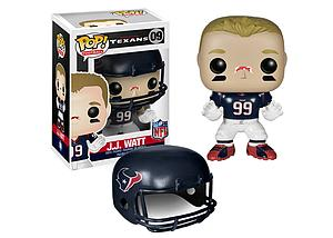 Pop! Football NFL Vinyl Figure J.J. Watt (Houston Texans) #09 (Retired)