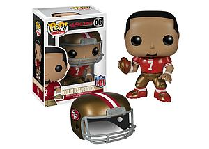 Pop! Football NFL Vinyl Figure Colin Kaepernick (San Francisco 49ers) #06 (Retired)