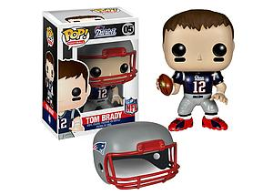 Pop! Football NFL Vinyl Figure Tom Brady (New England Patriots) #05 (Retired)