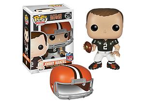 Pop! Football NFL Vinyl Figure Johnny Manziel (Cleveland Browns) #25 (Retired)