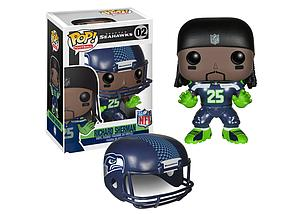 Pop! Football NFL Vinyl Figure Richard Sherman (Seattle Seahawks) #02
