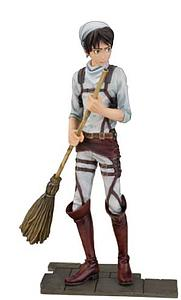 "Attack on Titan 7"" Statue Eren Yeager Cleaning Version"