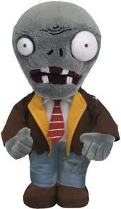 "Plants Vs Zombies Plush Zombie (7"")"