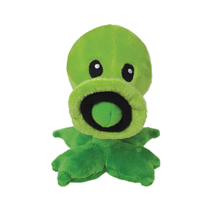 "Plants Vs Zombies Plush Peashooter (7"")"