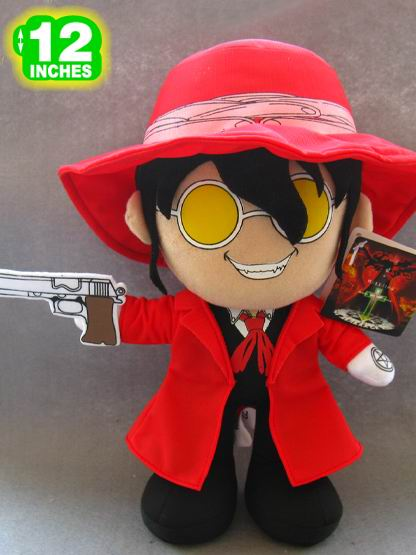 "Plush Toy Hellsing 12"" Alucard"