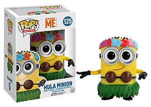 Pop! Movies Despicable Me Vinyl Figure Hula Minion #125 (Vaulted)