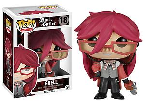 Pop! Animation Black Butler Vinyl Figure Grell #18 (Vaulted)