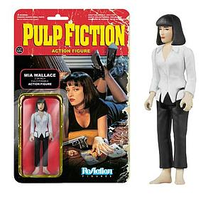 ReAction Figures Pulp Fiction Movie Series Mia Wallace