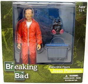 "Toys Breaking Bad 6"": Jesse Pinkman Exclusive Orange Hazmat Suit Exclusive"