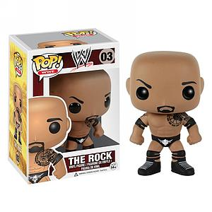 Pop! WWE Vinyl Figure The Rock #03 (Vaulted)