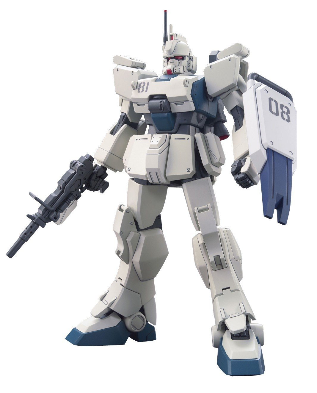 Gundam High Grade Universal Century 1/144 Scale Model Kit: #155 RX-79 (G) Ez-8 Gundam Ez8