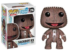 Pop! Games Little Big Planet Vinyl Figure Sackboy #26 (Retired)