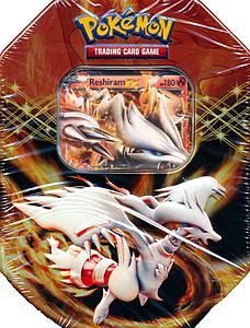 Pokemon Trading Card Game Black & White Spring 2012 EX Collector's Tins: Reshiram EX