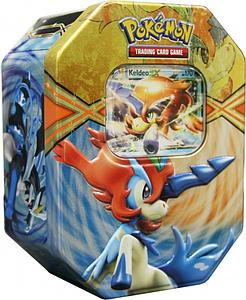 Pokemon Trading Card Game Black & White EX Power Spring Tins 2013: Keldeo-EX