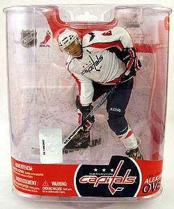 NHL Sportspicks Series 17 Alex Ovechkin (Washington Capitals) White Jersey Variant