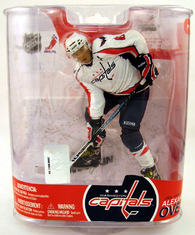 best service 31f55 a5c80 NHL Sportspicks Series 17 Alex Ovechkin (Washington Capitals) White Jersey  Variant
