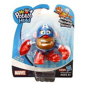 Mr. Potato Head Mixable Mashable Heroes: Captain America