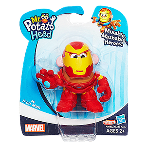 Mr. Potato Head Mixable Mashable Heroes: Iron Man