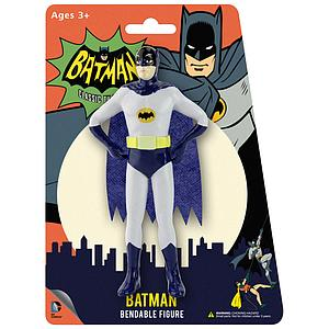 NJ Croce 1966 Batman Classic TV Series Bendable Figure Batman