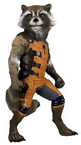 Guardians of the Galaxy 1:1 Full Scale Figure Rocket Raccoon