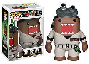 Pop! Movies Domo Ghostbusters Vinyl Figure Domo Ghostbuster #142 (Vaulted)