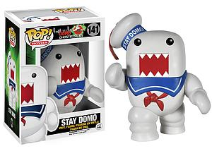 Pop! Movies Domo Ghostbusters Vinyl Figure Stay Domo #141 (Vaulted)