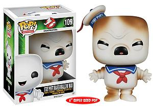 "Pop! Movies Ghostbusters Vinyl Figure 6"" Stay Puft Marshmallow Man (Burnt Version) #109 (Retired)"
