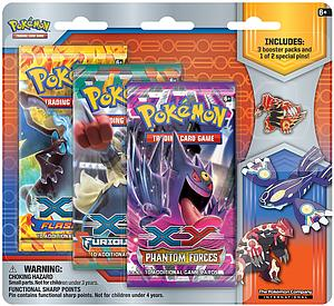 Pokemon Trading Card Game: XY Primal Reversion Collector Pin Gift Set: Groudon